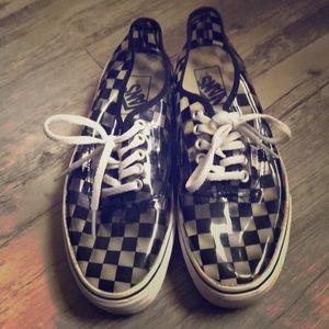 See-through Vans sneakers